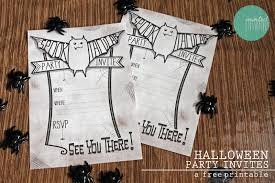 free printable spooktacular party invites for halloween