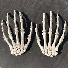 Halloween Skeleton Prop by 1 Pair Halloween Skeleton Hands Haunted House Halloween Props