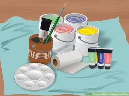 Painting Designs 5 Ways To Paint Designs On Walls Wikihow