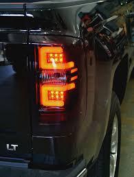 chevy silverado led tail lights silverado oled tail lights truck car parts 264238bk gorecon