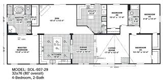 5 bedroom mobile homes floor plans uncategorized 4 5 bedroom mobile home floor plan awesome inside