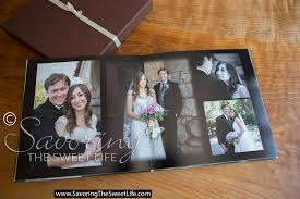 best wedding album custom designed wedding albums savoring the sweet