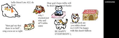 Meme Neko - nekoatsume meme xd tubbs by lpscutes on deviantart