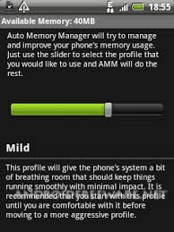 memory manager for android auto memory manager free android app android freeware