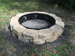 Concrete Fire Pit Exploding by My 75 Diy Fire Pit Howchoo