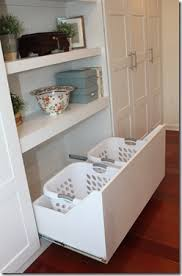 Laundry Hamper Built In Cabinet Ikea Hack 10 Pinned The General Shelf Unit But This Is The
