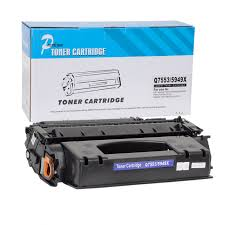 Common Toner compatível Q7553X 53X preto HP Laserjet P2014 P2015 Premium  #PX98