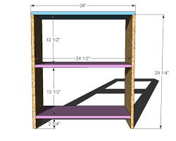 Free Plans To Build A Computer Desk by Ana White Loft Bed Small Bookcase And Desk Diy Projects