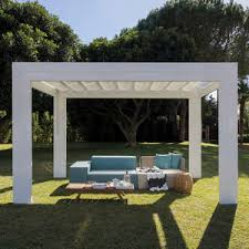 Steel Pergola With Canopy by Metal Pergola All Architecture And Design Manufacturers Videos