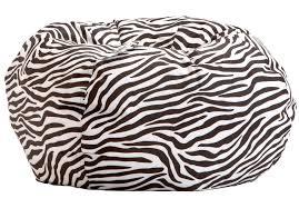 Big Joe Lumin Bean Bag Chair Zebra Bean Bag Chair Walmart Home Chair Decoration