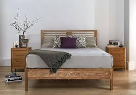 baku wooden bed frame furniture village