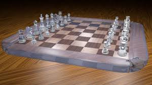 Glass Chess Boards Crystal Glass Chess Youtube