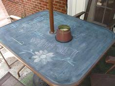 Glass Patio Table Top Chalkboard Table Glass Table Top Patio Table And Chalkboard Paint