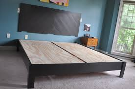 diy hotel style headboard u0026 platform bed inkwell press