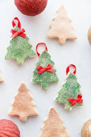 diy salt dough tree ornaments easy salt dough ornament