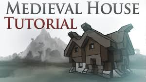 medieval house tutorial youtube
