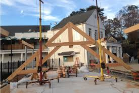 Truss Spacing Pole Barn Timber Frame Trusses Create An Open And Dramatic Effect