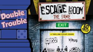 double trouble escape room the game youtube