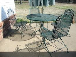 metal mesh outdoor furniture unique metal patio side table and