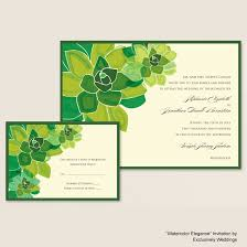 green wedding invitations your wedding invitation and your wedding colors part 2