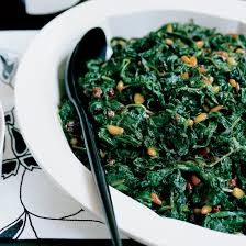 thanksgiving spinach recipes food wine
