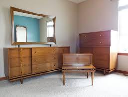Mid Century Modern Bedroom Set Mid Century Modern Bedroom Set Dresser Chest U0026 Nightstand Kent