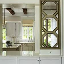 mirrored kitchen cabinets mirrored kitchen cabinets design ideas