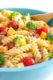 bacon cheddar ranch pasta salad kitchen gidget