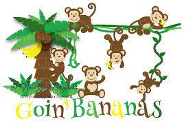 chimpanzee clipart banana plant pencil and in color chimpanzee