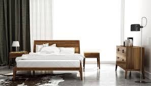 Modern Platform Bed King Dusk Modern King Size Platform Bed By Huppe Model 2100k