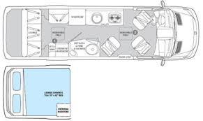 Sprinter 5th Wheel Floor Plans Colonial Airstream Interstate Lounge U0026 Twin A Motorhome Rv