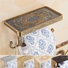 aliexpress com buy 1pcs newly toilet paper holder antique