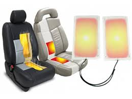 heated car seat cover with auto shut off velcromag