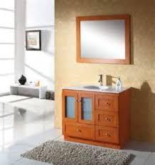 Bathroom Wood Vanities Solid Wood Bathroom Vanities Guide Is Introduced By Homethangscom