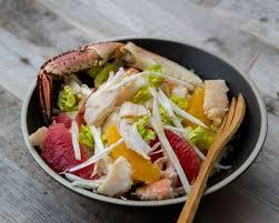 cuisiner un tourteau recette tourteau rémoulade au céleri et agrumes