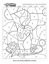 color numbers elephant coloring pages kids printable