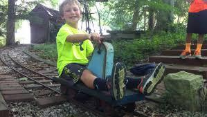 doepke live steam yardbird hand railcar car backyard train boys