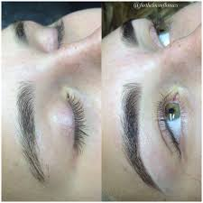 proper brow tinting and highlighting can add fullness to the look