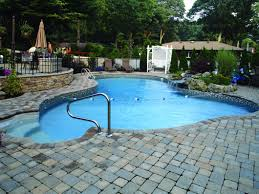 Backyards With Pools by In Ground Swimming Pool Builder Contractor Lakeville Raynham