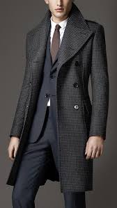 men u0027s coats pea duffle u0026 top coats houndstooth men u0027s fashion