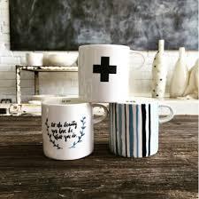 rae dunn mug mugs rae dunn clay fine handmade pottery