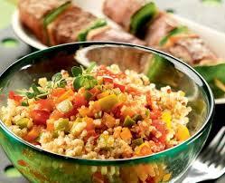 cuisiner du quinoa quinoa gourmand sauce basquaise recette tipiak
