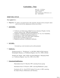 different resume types different type of resume with exles best of different resume