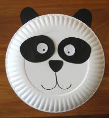 panda paper plate craft cindy derosier my creative life paper