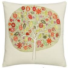 embroidered pillow home design