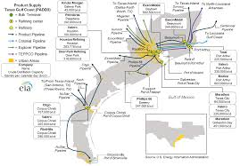 Map Of The East Coast Of Usa by East Coast And Gulf Coast Transportation Fuels Markets Energy
