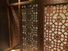 design of restaurant bathroom incorporates the feng shu
