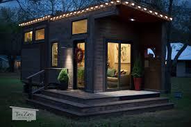 tiny house town tex zen tiny home 260 sq ft