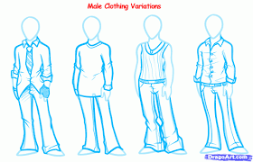 7 how to draw anime clothes draw manga clothes