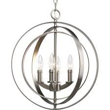 Sphere Ceiling Light Progress Lighting P3827 126 4 Light Sphere Foyer Lantern With